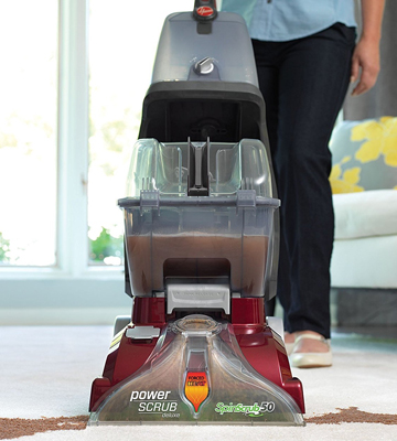 Review of Hoover FH50150 Power Scrub Deluxe Carpet Washer