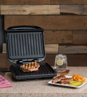 Review of George Foreman GRP1060B Removable Plate Grill and Panini Press