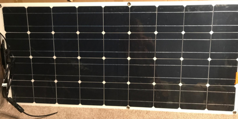 Review of Mohoo 100W Solar Panel 100W 18V Ultra Thin Lightweight Flexible