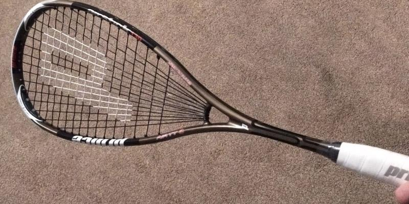 Detailed review of Prince Airstick 130 Squash Racquet