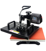 RoyalPress 12 x 15 Heat Press 5 in 1 (Color LED Sublimation, Heat Transfer)