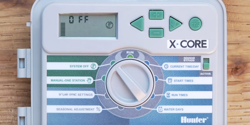 Review of Hunter XC600 6-Station Outdoor Irrigation Controller