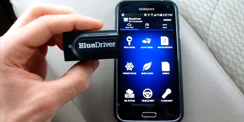 Review of BlueDriver Bluetooth Professional OBDII Scan Tool