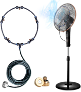 HOMENOTE 19.36FT Fan Misting Kit