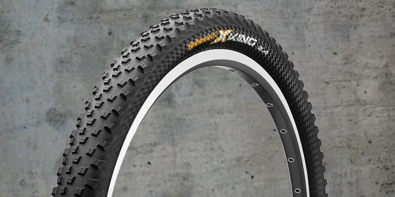 Continental X-King Fold ProTection Bike Tire in the use