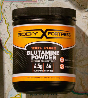 Review of Body Fortress 300g Pure Glutamine Powder