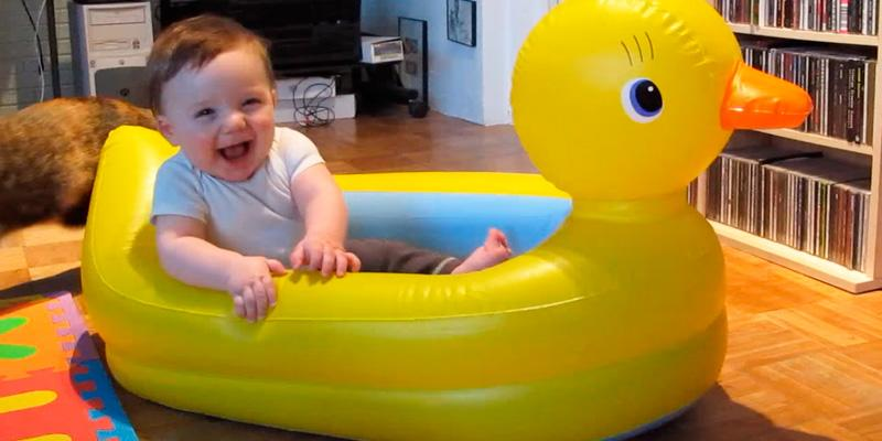 Review of Munchkin Duck Inflatable Tub