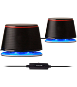 Sanyun SW102 USB-Powered Speakers for Laptop