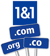 1&1 Domains at the best prices
