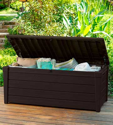 Review of Keter Outdoor Resin Garden Patio Deck Box