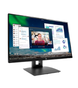 HP VH240a 23.8-inch IPS Monitor (FullHD, 60Hz, Built-in Speakers)
