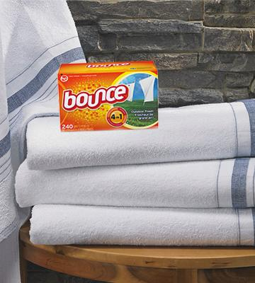 Review of Bounce Outdoor Fresh Dryer Sheets and Fabric Softener