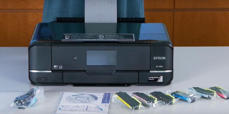 Review of Epson XP-960 with Scanner