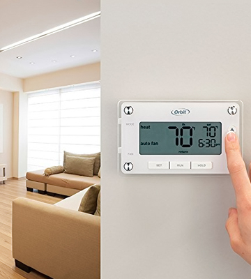 Review of Orbit 83521 Clear Comfort Programmable Thermostat