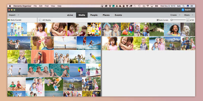 Adobe Photoshop Elements 2018 Easy Photo Editing & Collage Maker in the use