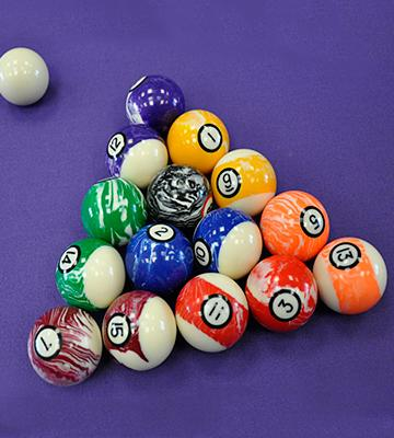 Review of Iszy Billiards Marble/Swirl Style Pool/Billiard Ball Set