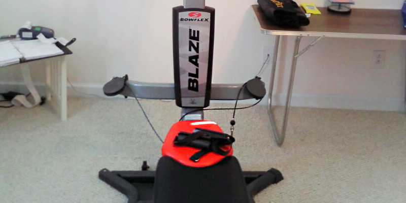 Bowflex Blaze Home Gym application