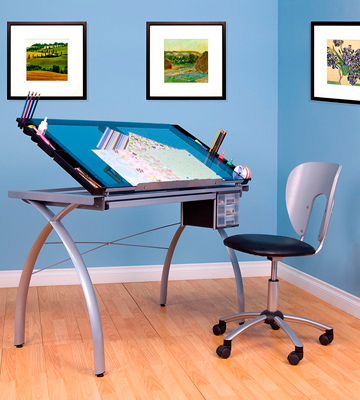Review of Studio Designs 10050 Futura Craft Station Drafting and Drawing Table with Storage