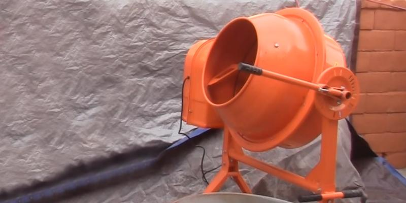 Generic Import 36 RPM Electric Cement Mixer in the use
