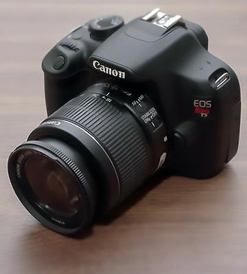 Review of Canon EOS Rebel T5 Digital SLR Camera