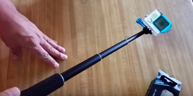 "Review of Lightdow X-POV 19"" Telescoping Selfie Stick"