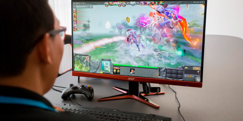 Review of Acer XG270HU 27-inch QHD Monitor FreeSync