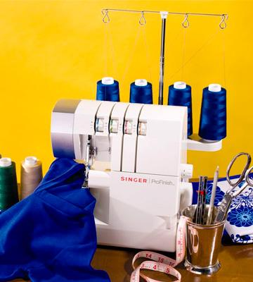 Review of SINGER 14CG754 ProFinish Overlock Machine
