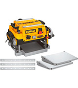 DEWALT DW735X Two Speed Thickness Planer Package