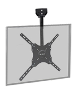 VideoSecu MLCE7-1O2 Adjustable Ceiling TV Mount