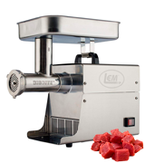 LEM 17791 Big Bite #8 .5HP Stainless Steel Electric Meat Grinder