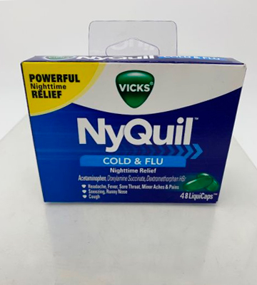 Review of Vicks NyQuil Cold & Flu Nighttime Relief