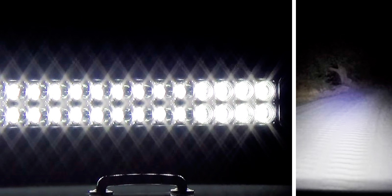 Detailed review of Eyourlife J_120 Combo LED Light Bar
