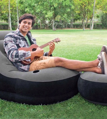 Review of Intex 68564EP Ultra Inflatable Lounge with Ottoman