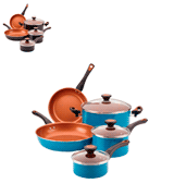 Farberware 10365 Nonstick 11 Piece Cookware Set