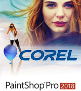 Corel PaintShop Pro 2018 Photo editing software