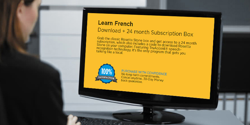 Detailed review of Rosetta Stone Learn French Online