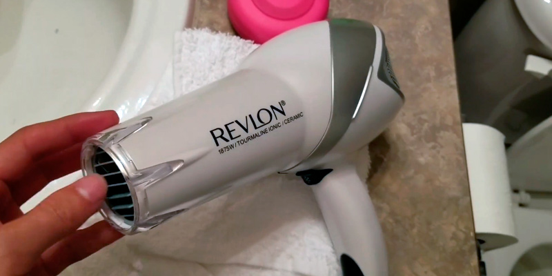 Review of Revlon Tourmaline Ionic Infrared Hair Dryer with Hair Clips