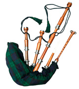 McWilliams Professional Bagpipe Highland with Hardbox