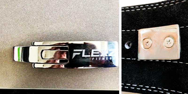 Detailed review of Flexz Fitness Lever Buckle Powerlifting Belt