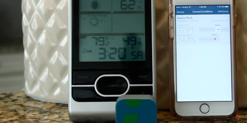 Detailed review of SensorPush Wireless Thermometer/ Hygrometer for iPhone / Android
