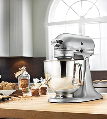 Review of KitchenAid KSM150PS Artisan Series Pouring Shield