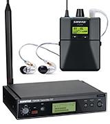 Shure P3TRA215CL PSM300 Wireless Stereo Personal Monitor System