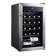 Kalamera KRC-24SS Single Zone Wine Cooler