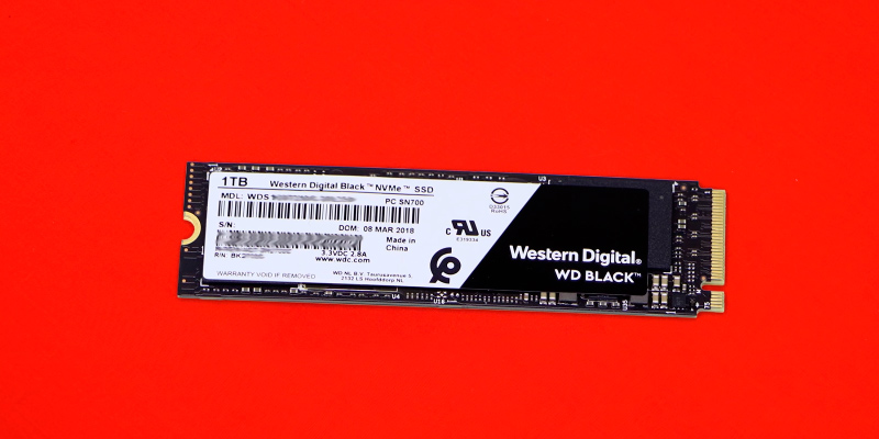 Review of Western Digital Black (WDS100T2X0C) High-Performance NVMe PCIe Gen3 8 Gb/s M.2 2280 SSD