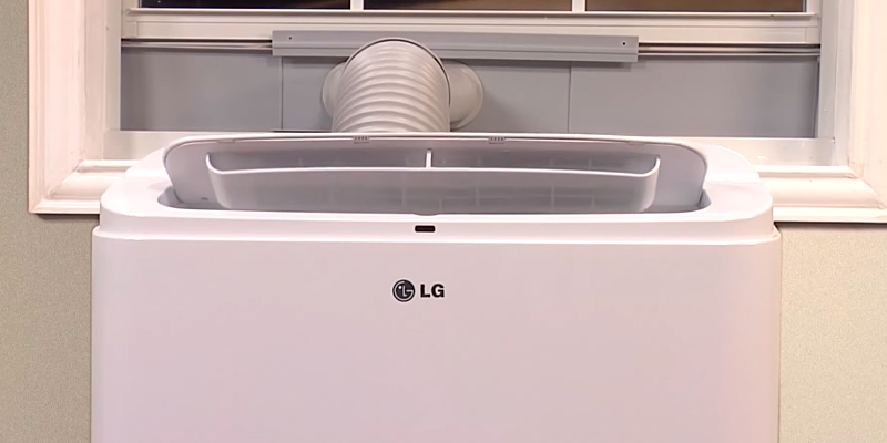 Review of LG LP0817WSR Portable Air Conditioner with Remote Control