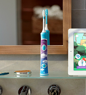 Review of Philips Sonicare for Kids (HX6321/02) Bluetooth Connected Rechargeable Electric Toothbrush for Kids