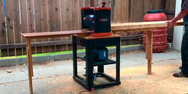 Review of WEN 6550T Corded Benchtop Thickness Planer