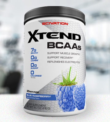 Review of Scivation Blue Raspberry, 30 Servings BCAA Powder