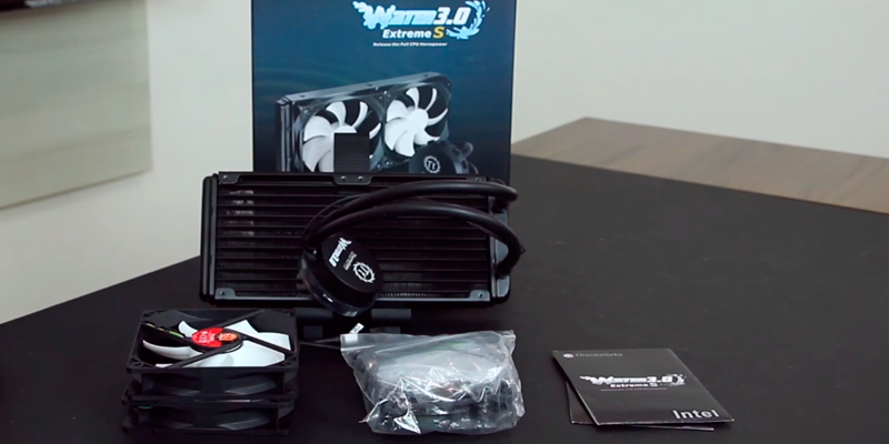 Review of Thermaltake CLW0224-B AIO Liquid Cooling System CPU Cooler