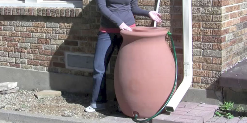 Review of Algreen Products Castilla Rain Barrel